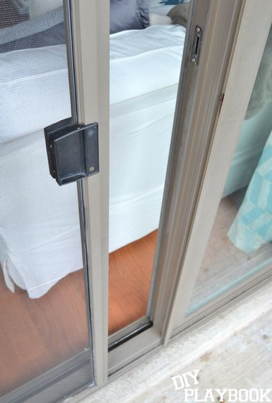 How To Re Screen A Sliding Door