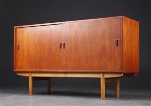 Børge Mogensen. Lav skænk, teak | Home decor, Teak, Furniture