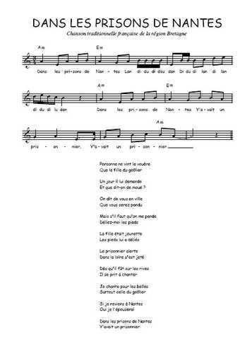 chanson nantes