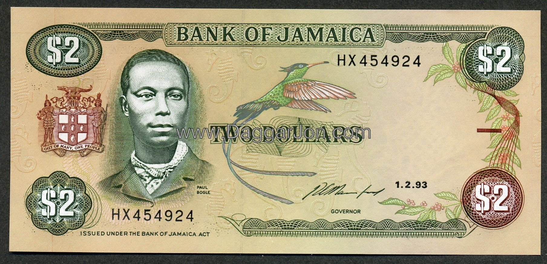worksheet Jamaican Money paul bogle from stony gut to contested identity money the o find someone in jamaica jamaican two dollar note