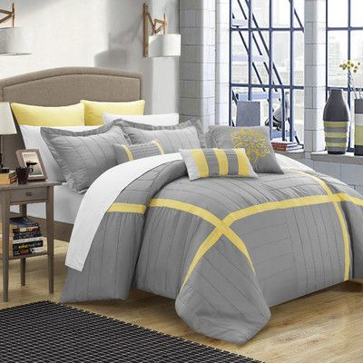 Charming Chic Home Vera 8 Piece Comforter Set U0026 Reviews | Wayfair