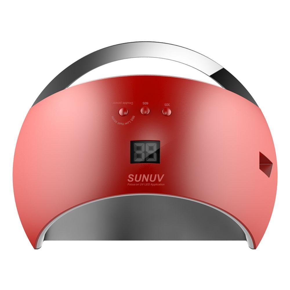 Visit to Buy] 48W UV Lamp Nail Dryer SUN6 UV Led Lamp Nail LED Dryer ...