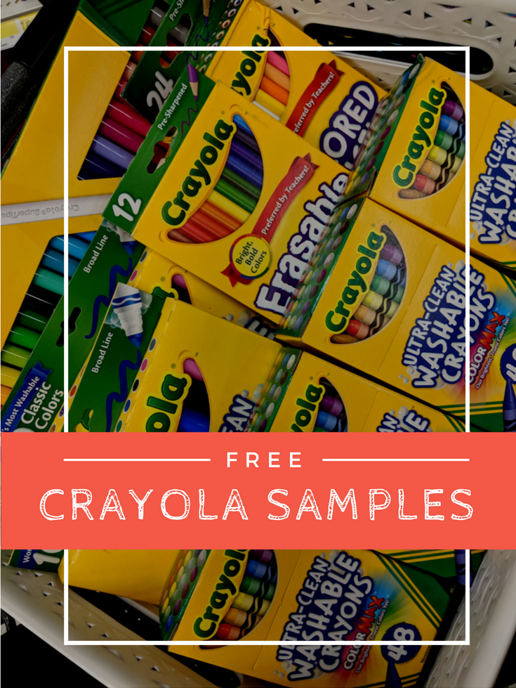 Save on arts & crafts supplies with free Crayola samples from Get It ...