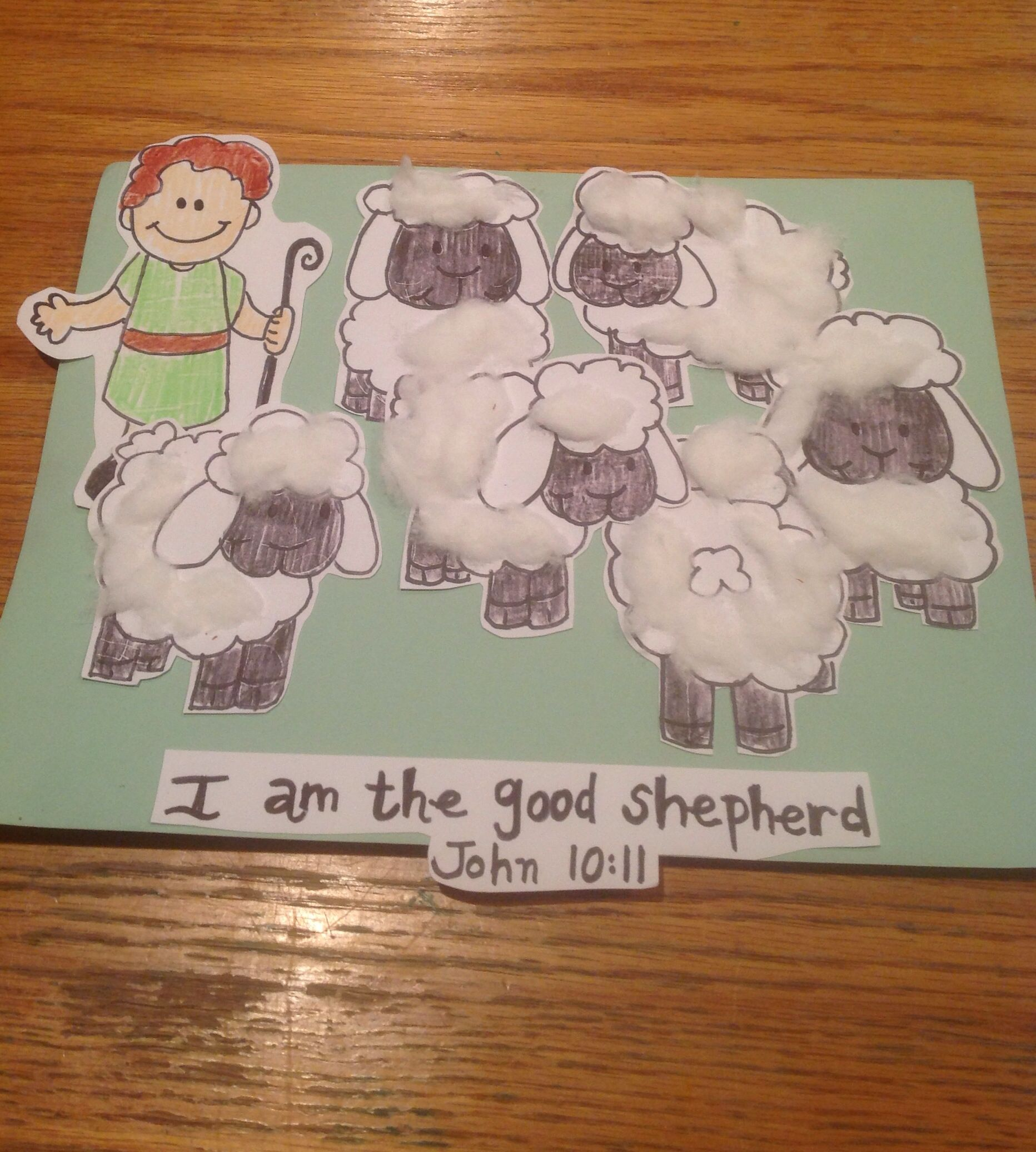 Good Shepherd David Bible Craft By Let