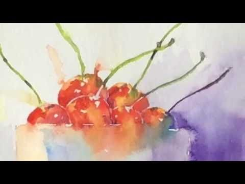 Simple Loose Watercolour 39 Tulip 39 S 39 With Andrew Geeson