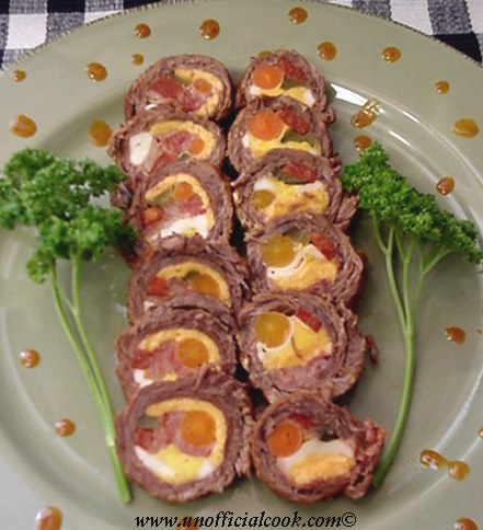 Recipe of morcon pork