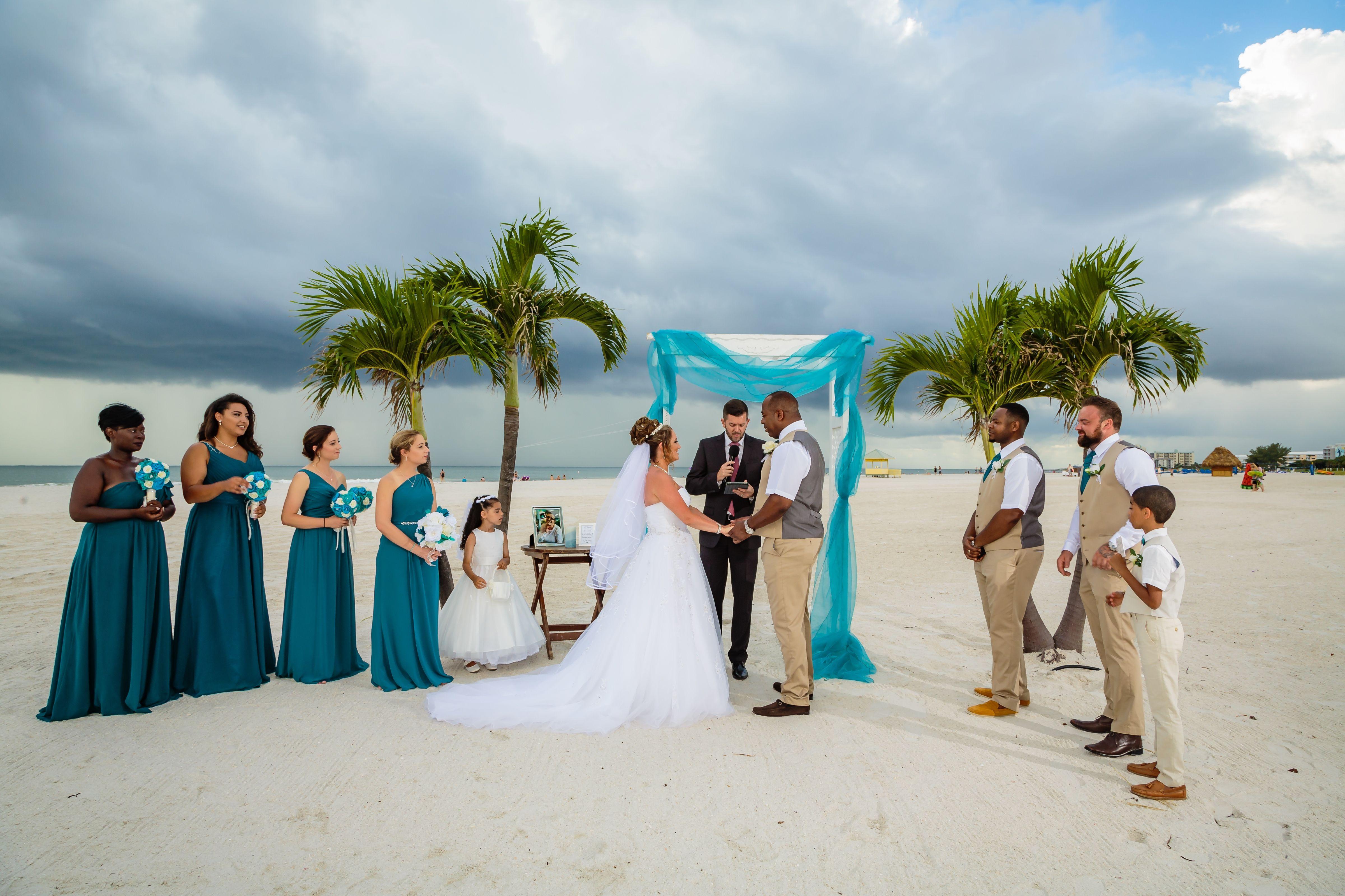 Photographers St Pete Beach Weddings Grand Plaza Don Cesar