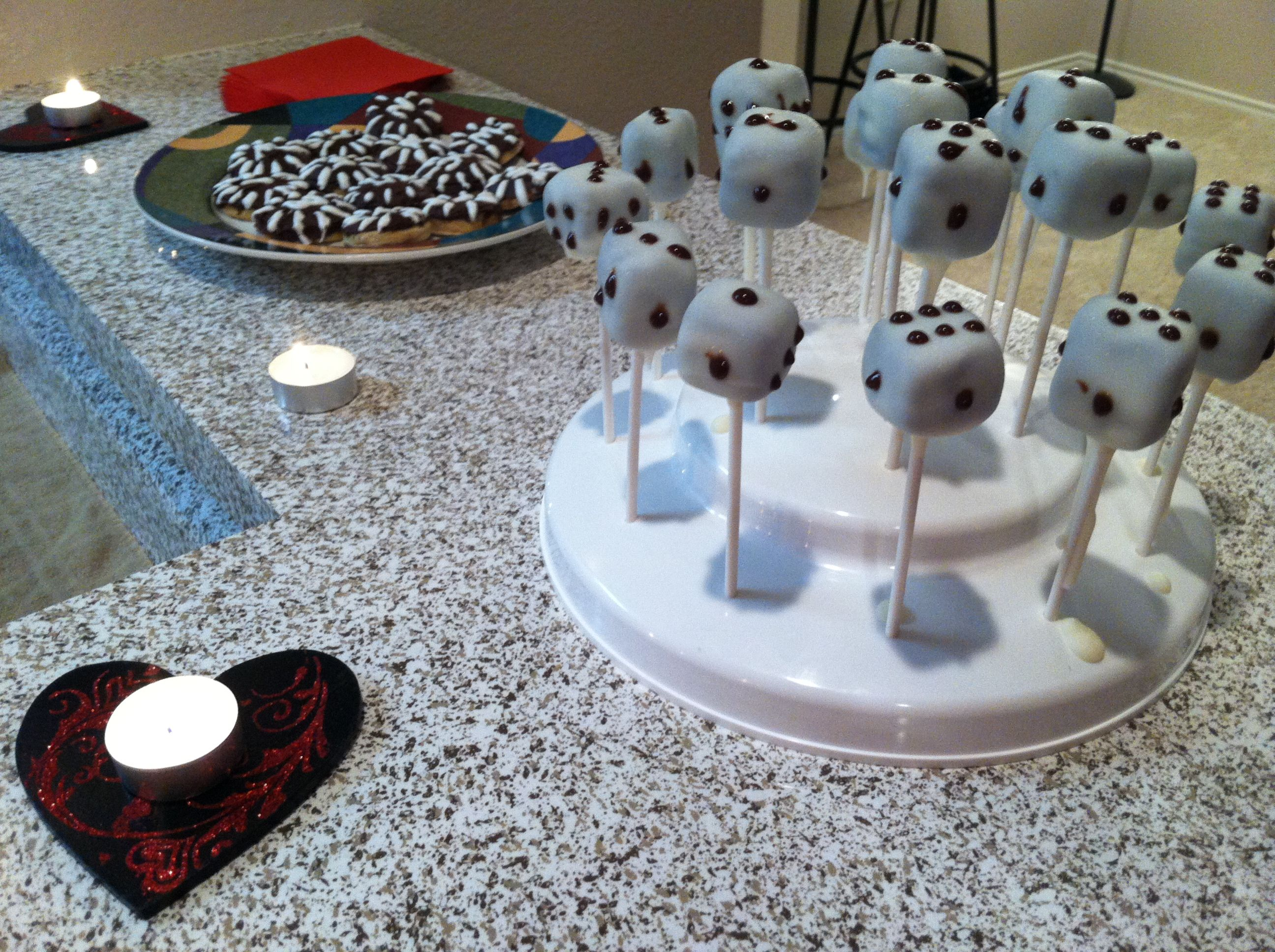 How To Make Dice Cake Pops