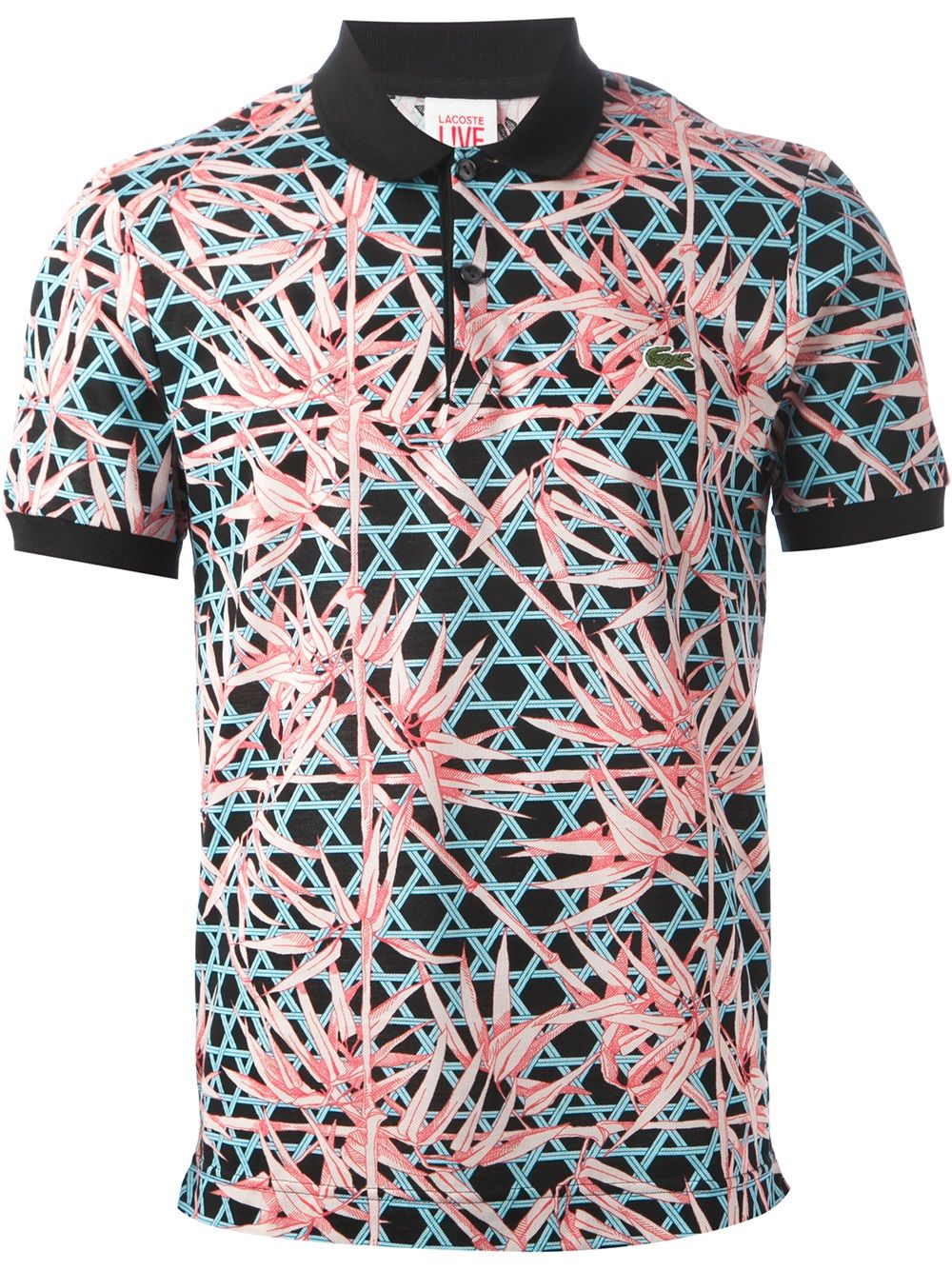 Lacoste is keeping up with the Floral Print Trend with this untypical Polo  Shirt.   Men s Fashion   Street Styles   Young Urban Male   lopezrw   719c55fab1