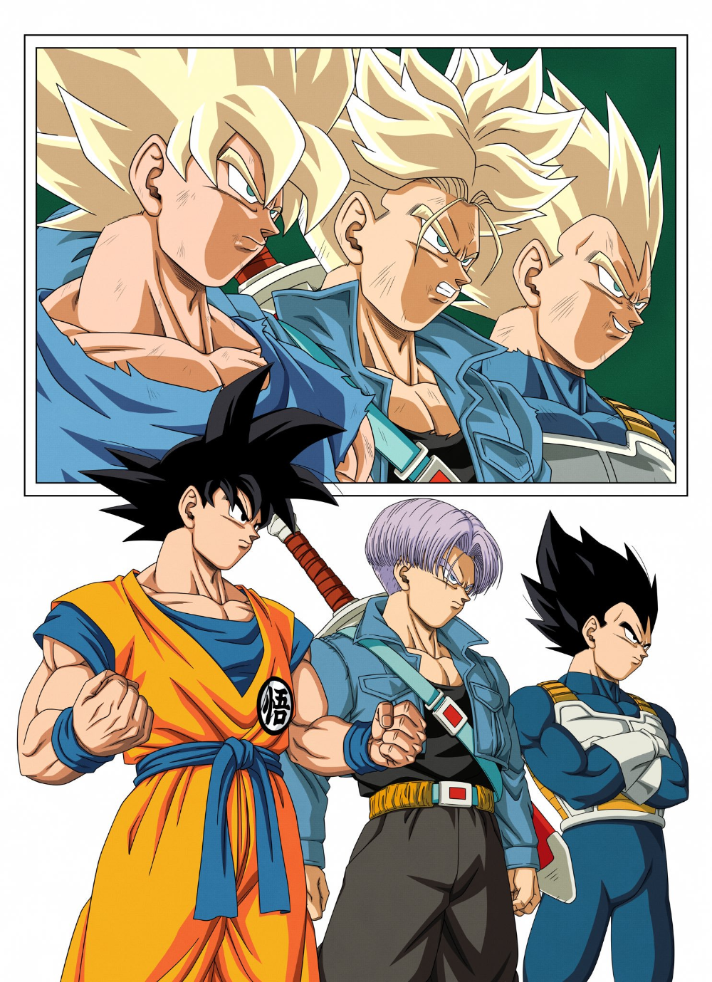 Dragon Ball Z Personnages : dragon, personnages, Michael, Saunders, Personnages, Dragon, Super, Manga,, Anime, Super,, Artwork