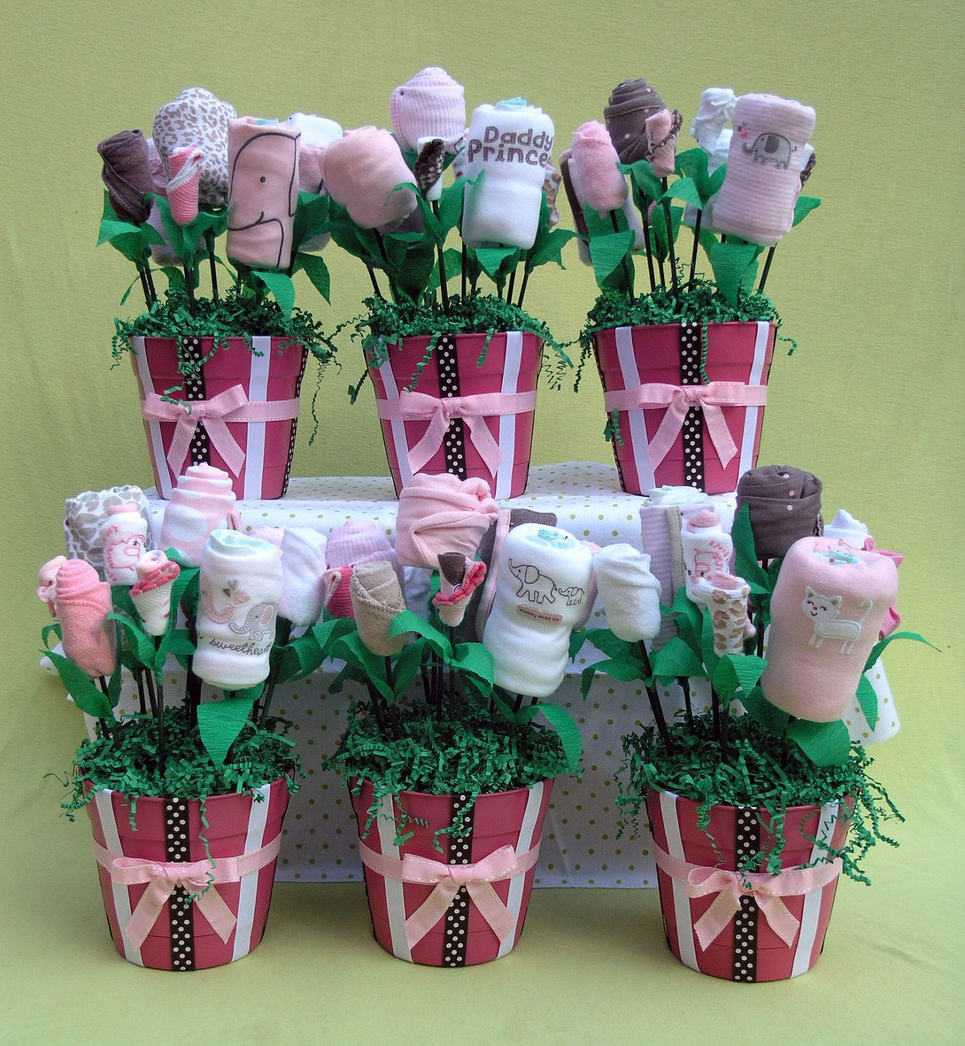 Baby Shower Decor Packages ~ Baby shower decorations girl centerpiece set