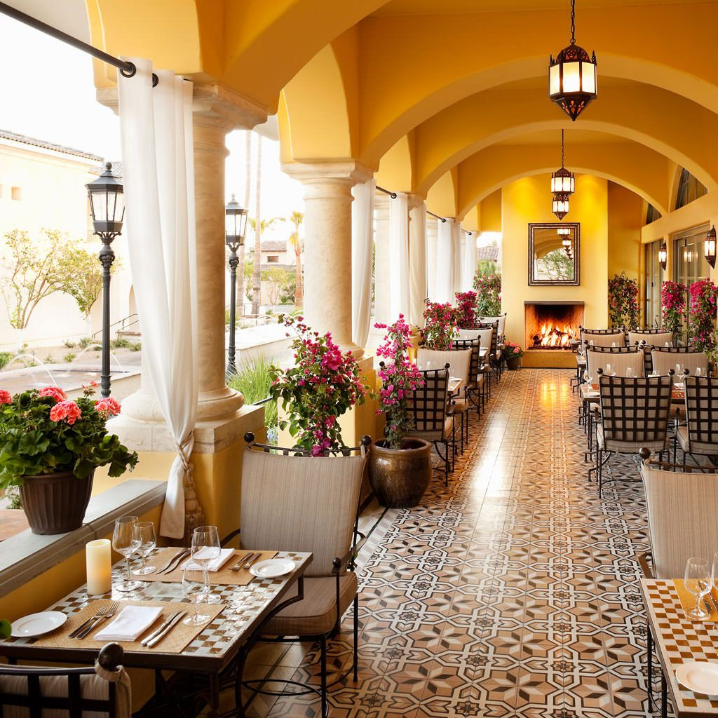 Best Outdoor Dining In Scottsdale Scottsdale Resorts