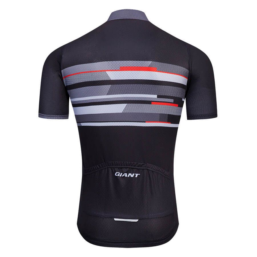 2018 Team Giant Cycling Jerseys Gray Red Black  02d978ce0