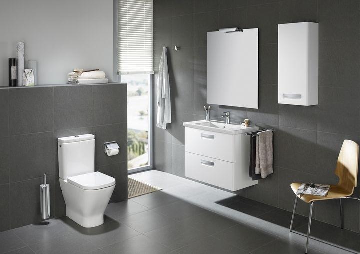 Smalle Badkamer Verzameling : Een verzameling van keramische badkamer roca gap van designer
