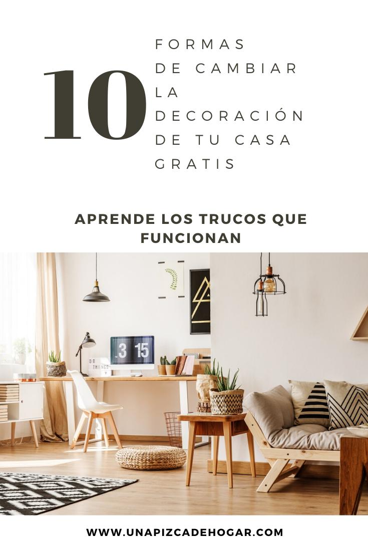 10 Formas De Decorar Tu Casa En 2021 Sin Gastar Nada De Dinero Decoraciones De Casa Decoracion De Unas Decoracion Hogar