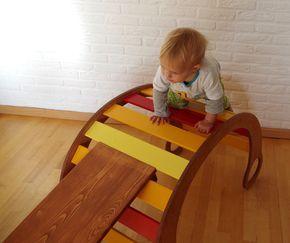 Spielmobel Fur Kinder Selber Bauen Mit Schablone Kletterbogen