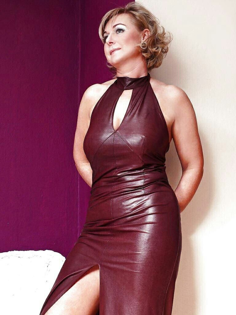 Lovely gowns for mature women