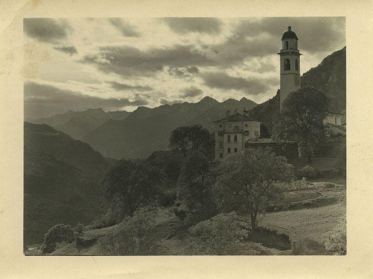 Andreas Garbald: Soglio, 1905.
