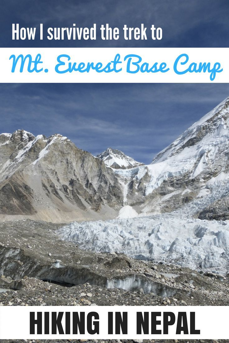 How I survived hiking to Everest Base Camp - read my story from the heart on my website!