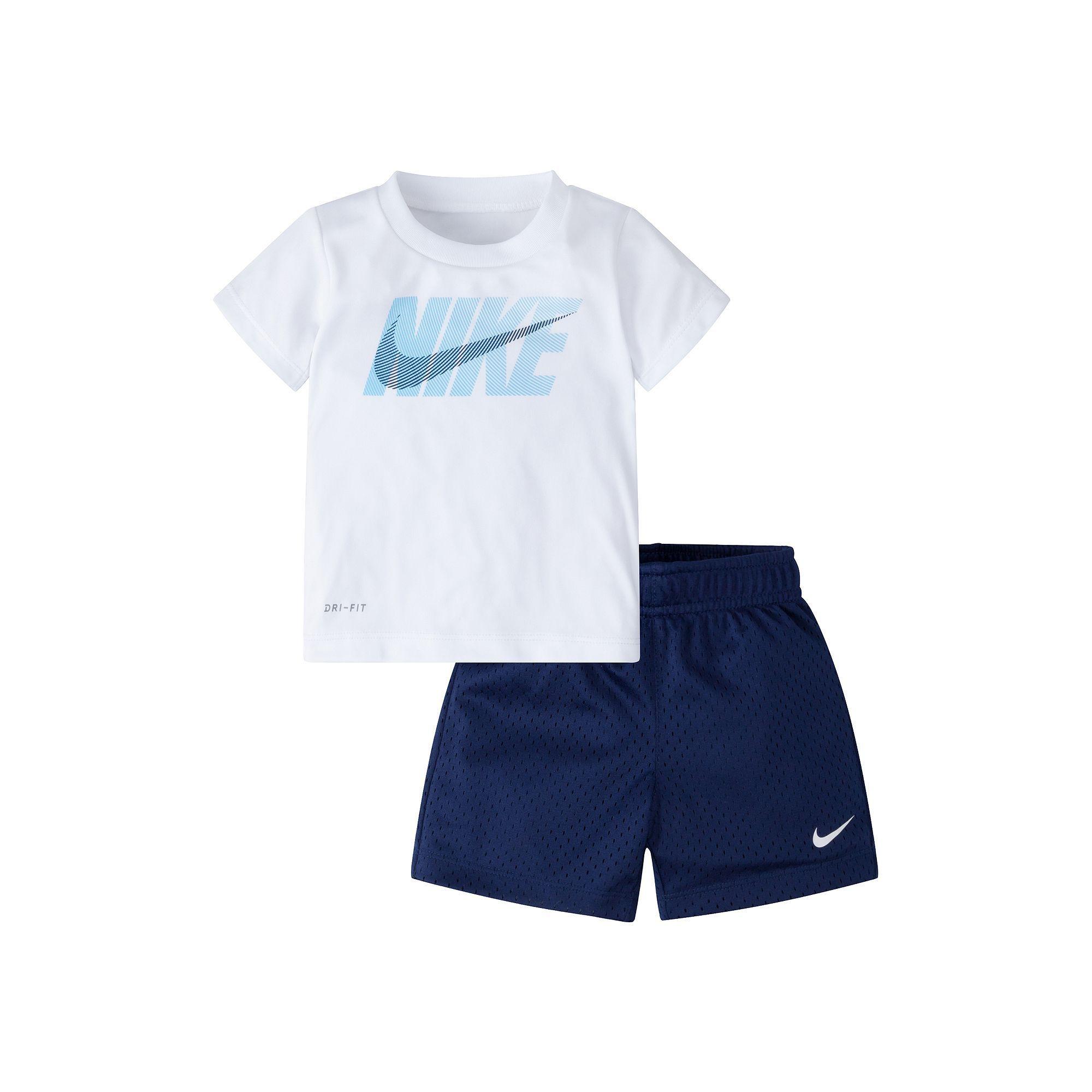 0fdfe84e65b9 Boys 4-7 Nike Tee   Shorts Set in 2019