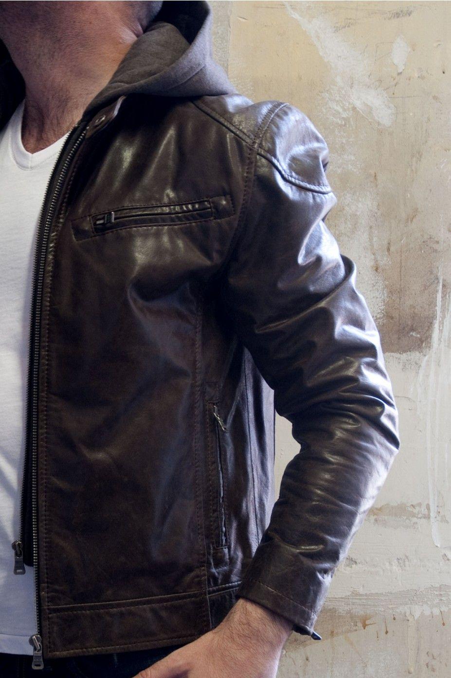 Gipsy Biko Men S Buff Toledo Brown Leather Jacket Leather Jacket Men Leather Jacket Brown Leather Jacket [ 1392 x 927 Pixel ]