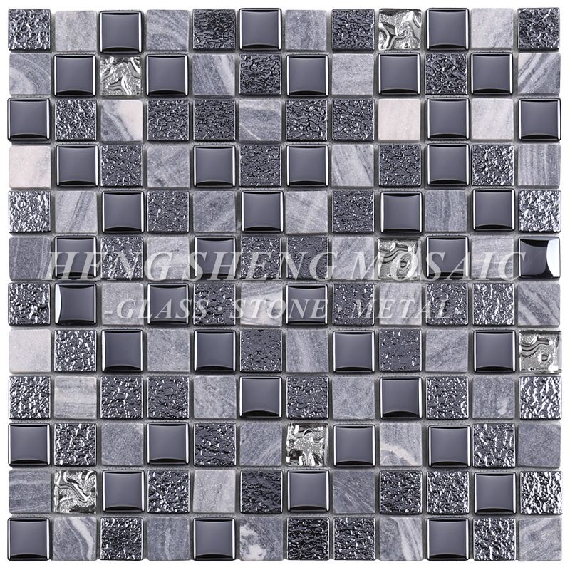 Pin On Glass Mix Other Materials Mosiac Tiles