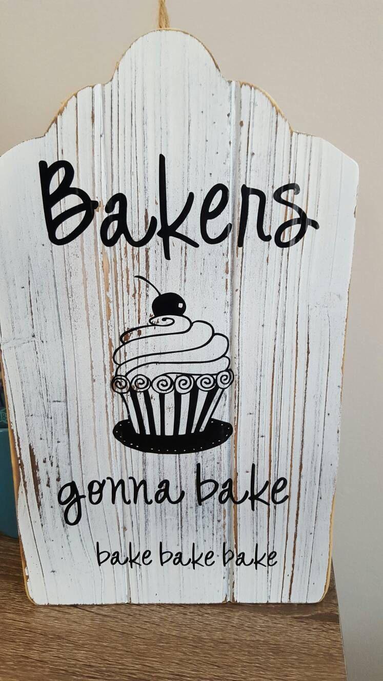 Bakers Gonna bake! Wall decor | Decor! | Pinterest | Wall décor ...
