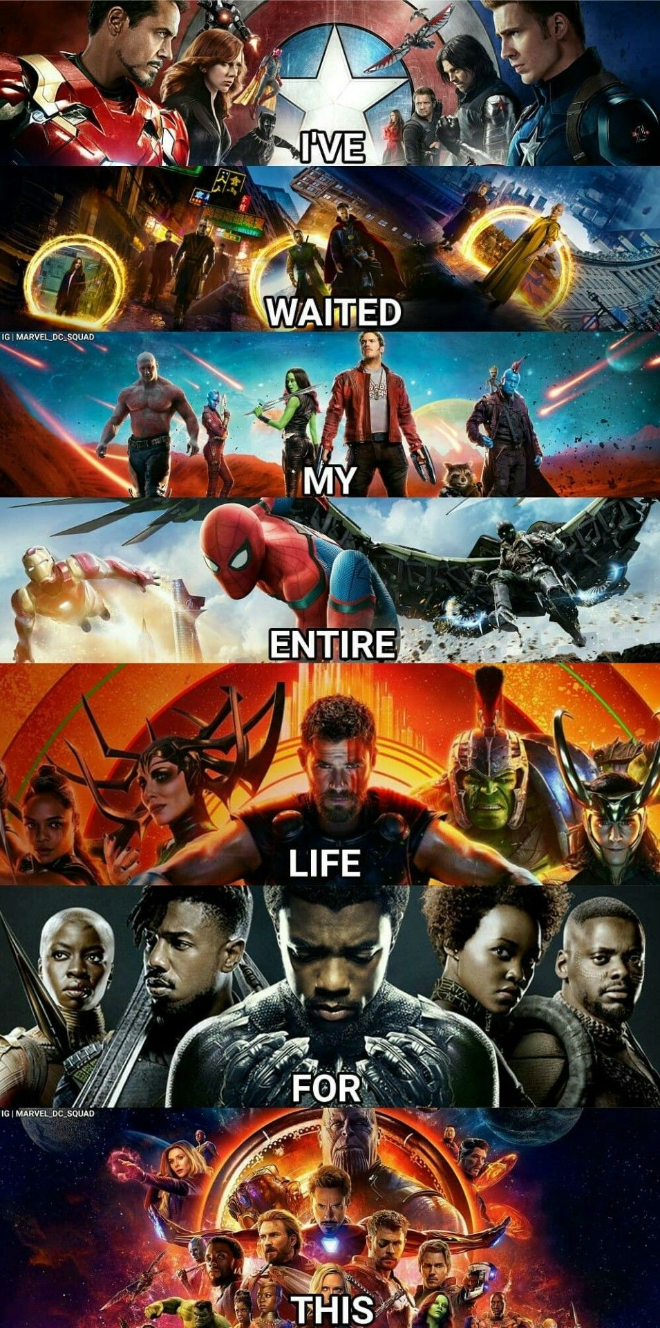 Movel Moveis I Have Seen All The Marvel Movies For This Aiw Marvel Marvel