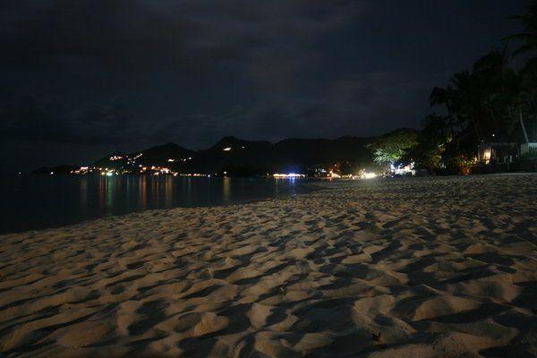 Walking On The Beach At Night Beach At Night Beach Night Beach