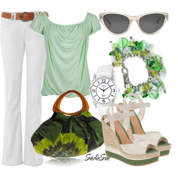 St. Patty outfit!   created by sadiesue.polyvore...
