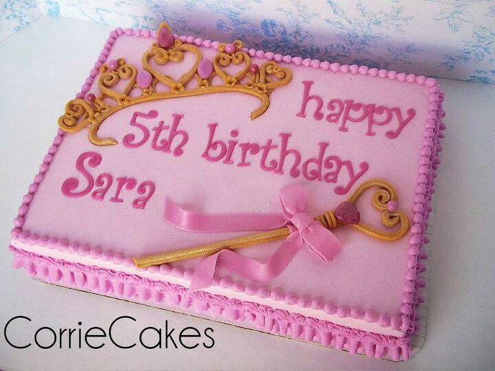 Princess Sheet Cake With Images Birthday Sheet Cakes Sheet