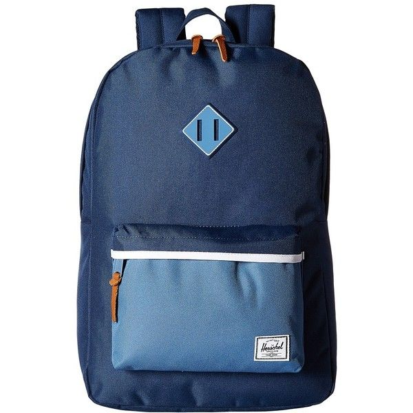 Herschel Supply Co. Heritage (Navy Captain s Blue Captain s Blue... ( 60) ❤  liked on Polyvore featuring bags c457a25a4c120