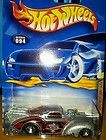 Hotwheels 2001.VHTF DEEP SERIES JEEP WILLYS COUPE #94