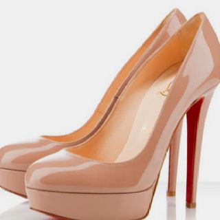 Got to have a pair of nude pumps.