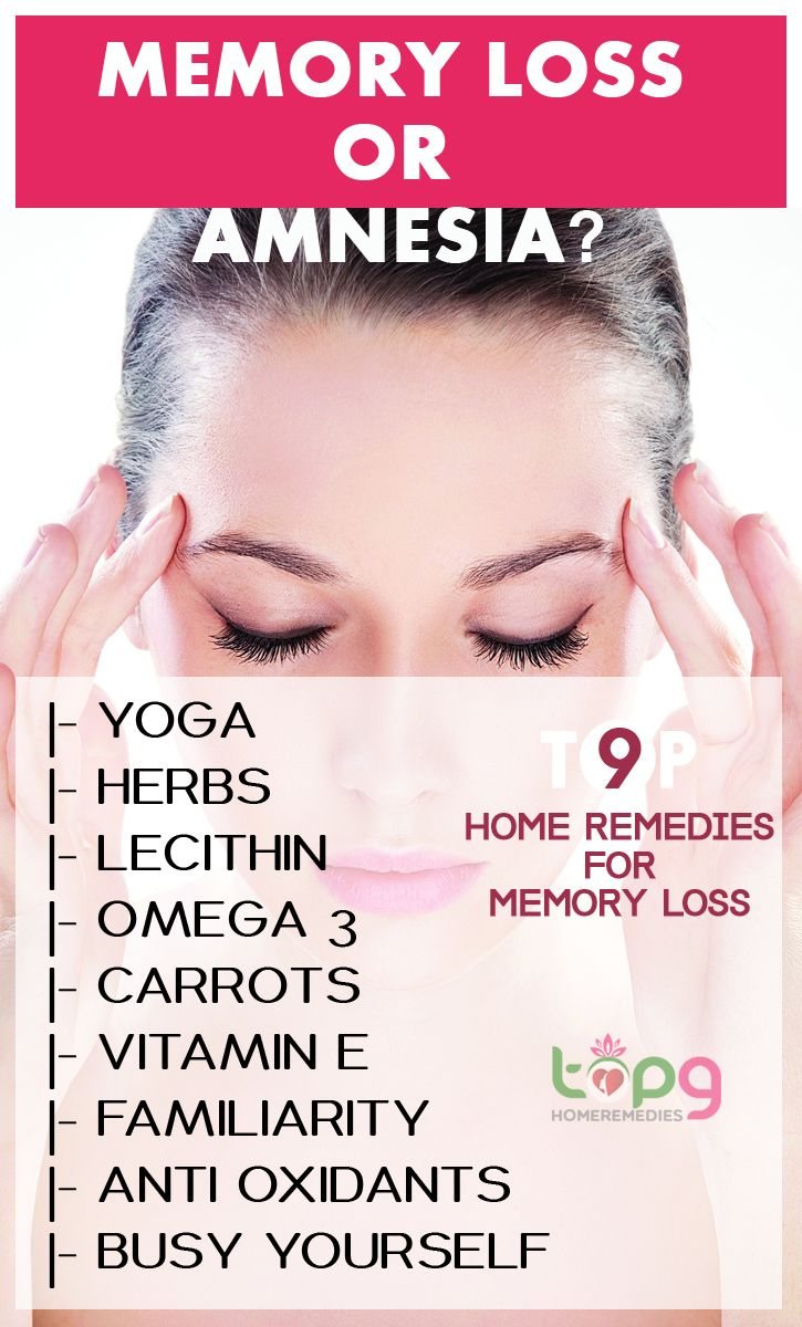 Top 9 Home Remedies for Memory Loss..