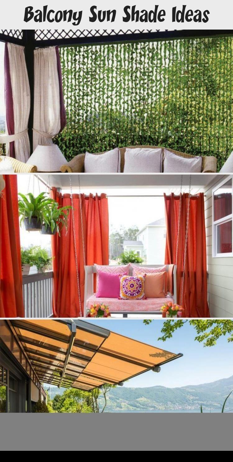 Balcony Sun Shade Ideas Balcony Shade Balcony Decor Balcony Design