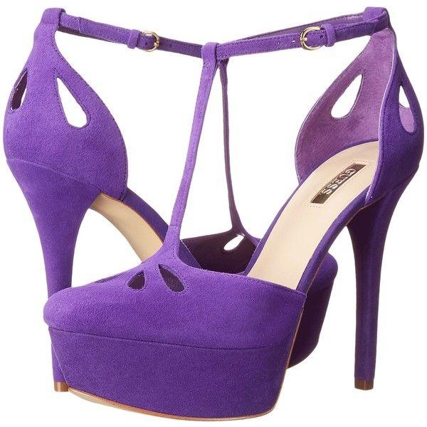 Womens Shoes GUESS Espie Purple Suede
