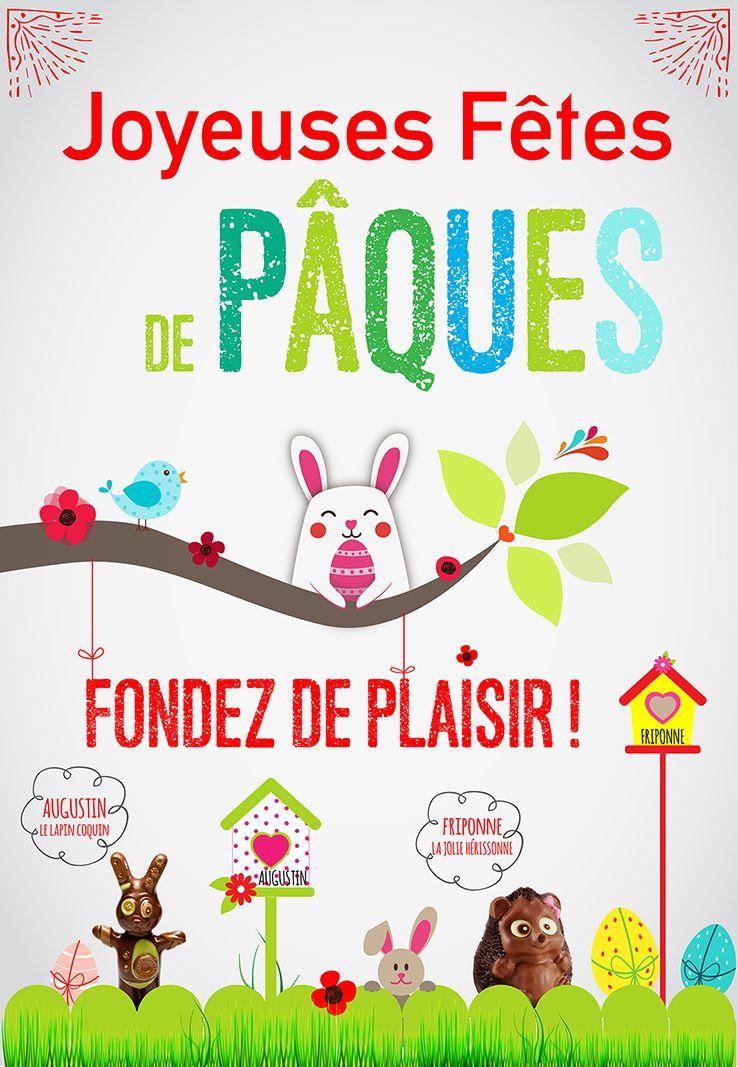 Fondez de plaisir avec nos chocolats de Pâques ! - http://www.boulangeriemassaintpierre.fr/fondez-de-plaisir-chocolats-de-paques.php