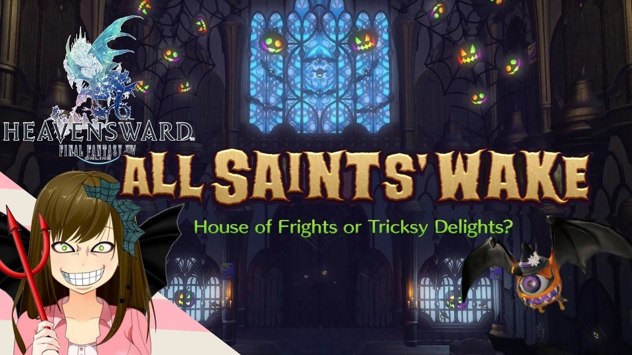 All saints wake 2016 Final fantasy 14 Event Preview