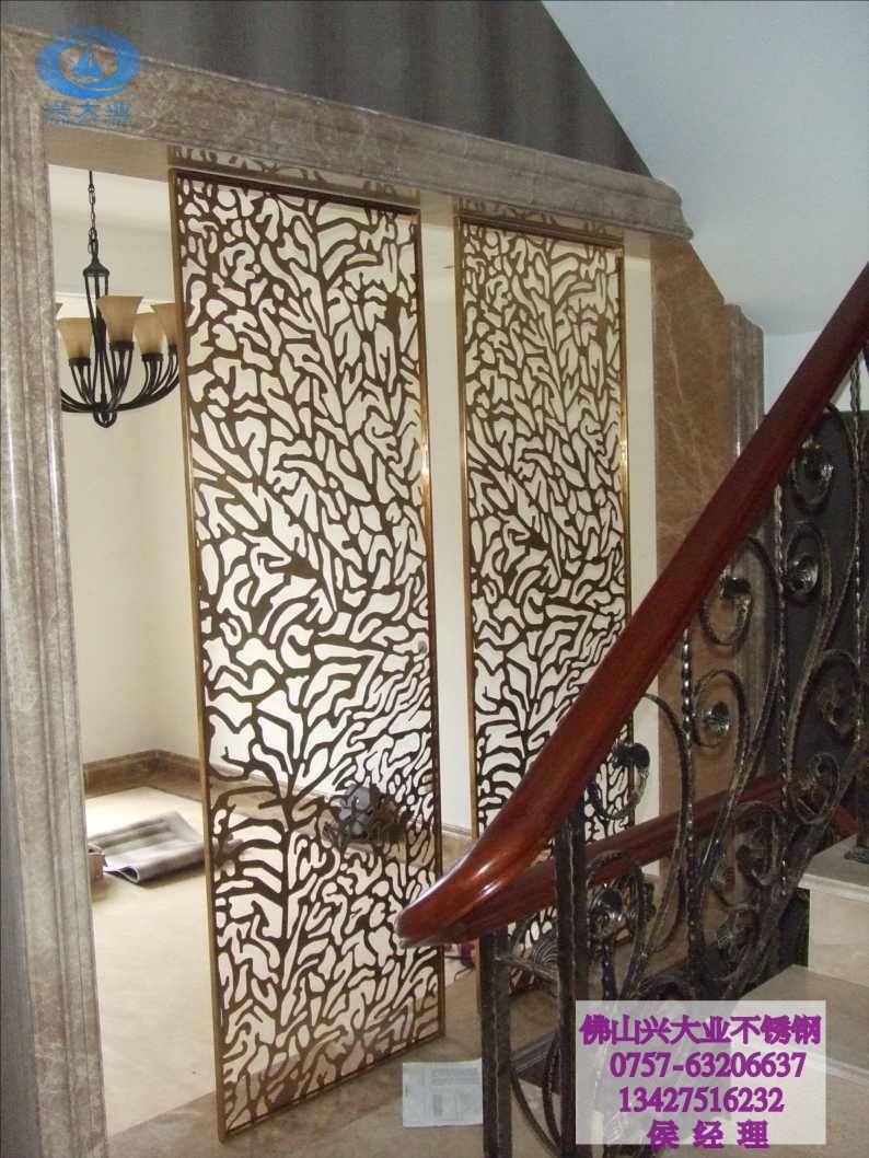 Decorative metal sheets for walls metal room divider