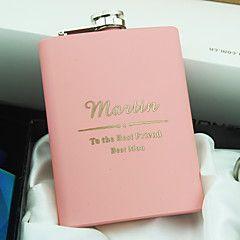 aço inoxidável 8 oz frascos de rosa quadril personalizados