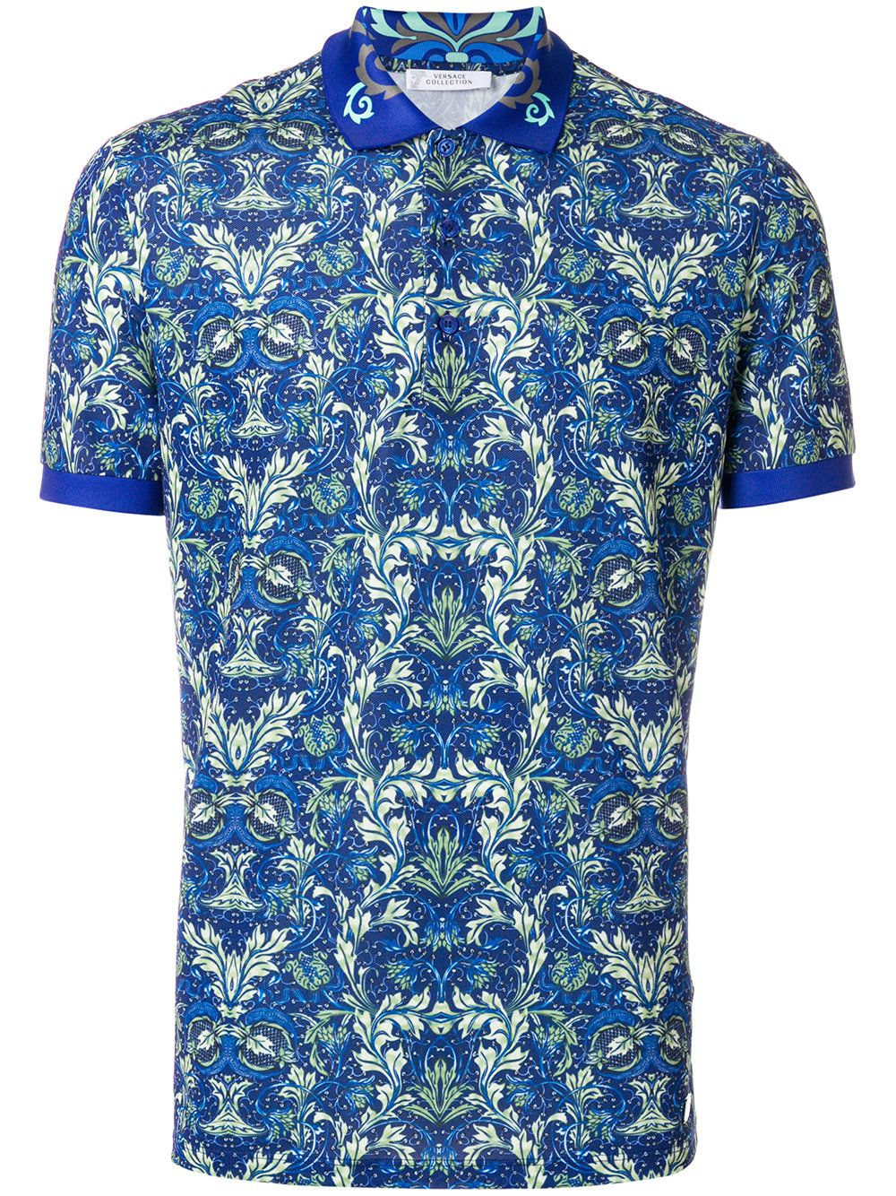 667042c9 VERSACE BAROQUE PRINT POLO SHIRT. #versace #cloth # | Versace Men ...
