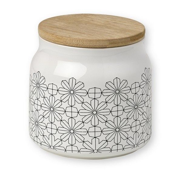 Pot Fleurs Géométriques Noires avec couvercle bois Mr&Mrs Clynk - ATOMIC SODA