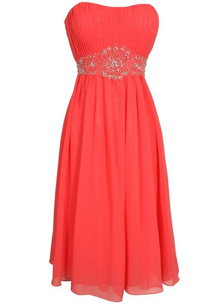 prom dresses 2014 | coral red under 100$ prom dresses 2014 long ...
