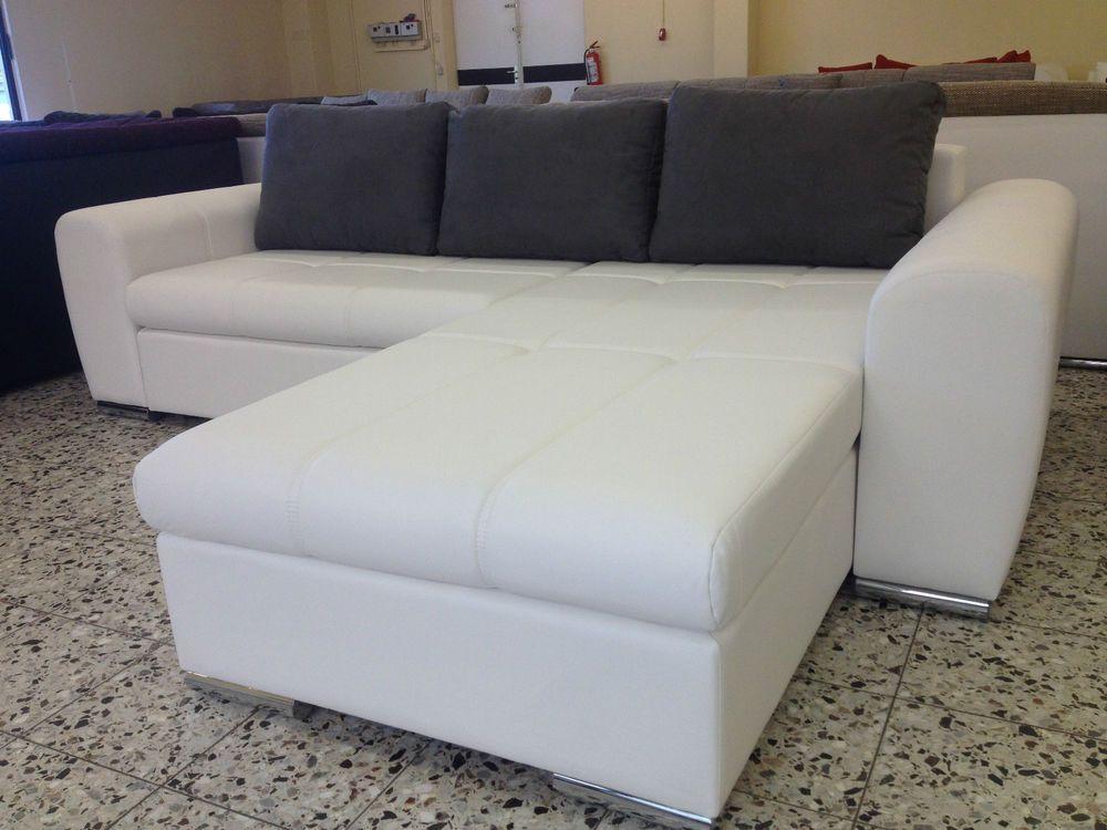 Neu 270cm Neu Wohnlandschaft Mega Big Bettsofa Sofa Couch Sofa Textil Leder Nr90 Bettsofa Couch Wohnlandschaft Wohnlandschaft