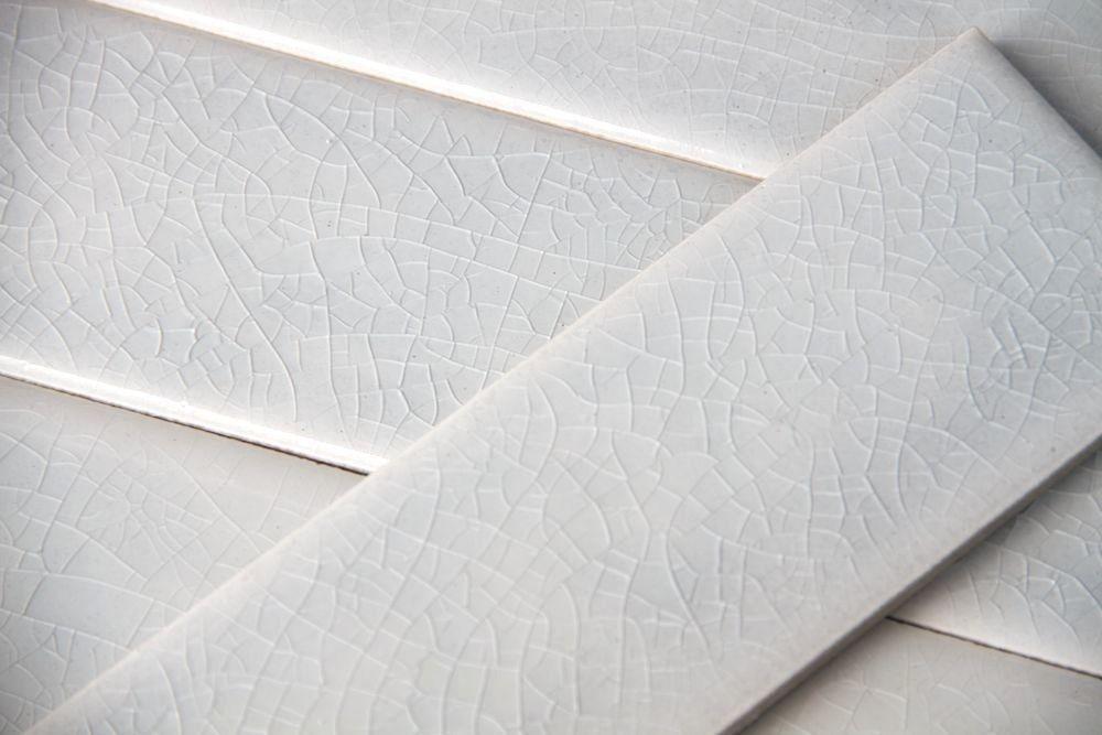 Details About 2x8 Off White Crackle Subway Porcelain Tile