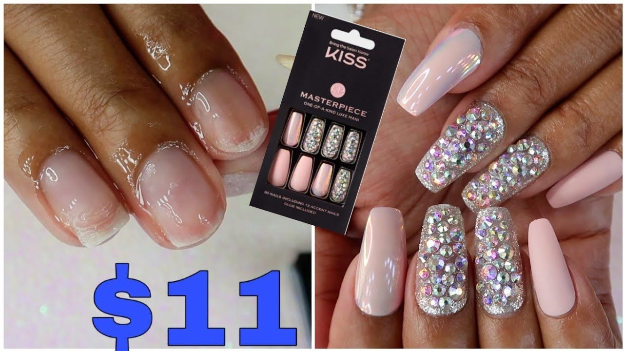 I Tried an $11 Kiss Luxe Mani Press on Nails Kit from ...
