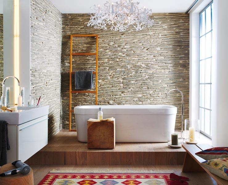 Badezimmer Im New Country Stil Badezimmer Schoner Wohnen Badezimmereinrichtung Badezimmer Planen Stil Badezimmer