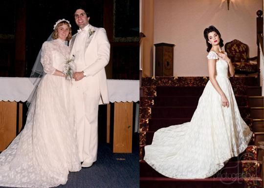 'Something Old' Is Made New: Wedding Dress Upcycles