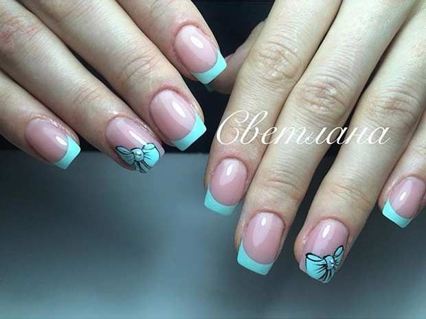 Beautiful French Tip Nail Designs For Summer 2018 Nails Pinterest